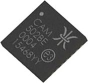 CAM204 chip with markings enhanced for clarity