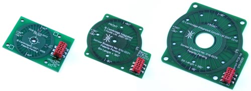 25mm, 36mm and 50mm diameter rotary sensors